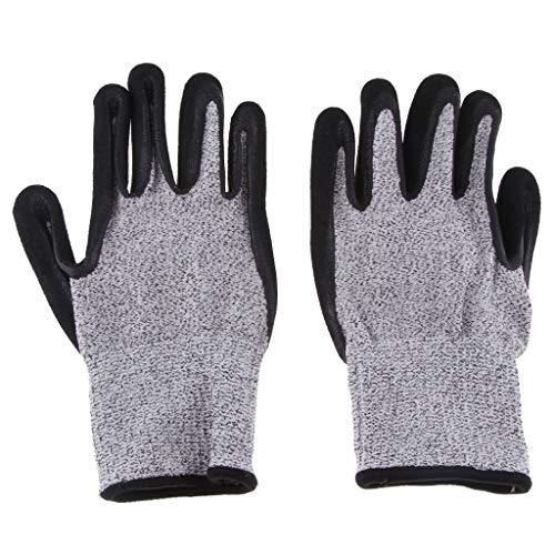 Generic カット耐性の安全ハンド作業用手袋、レベル5保護グレーHPPE