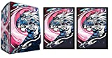 GALAXY TIGER - 100 Shuffle-Tech DEFENDERS of the UNIVERSE GLOSS Finish Sleeves + Deck Box by MAX PRO (fits Magic / MTG, Pokemon Cards)