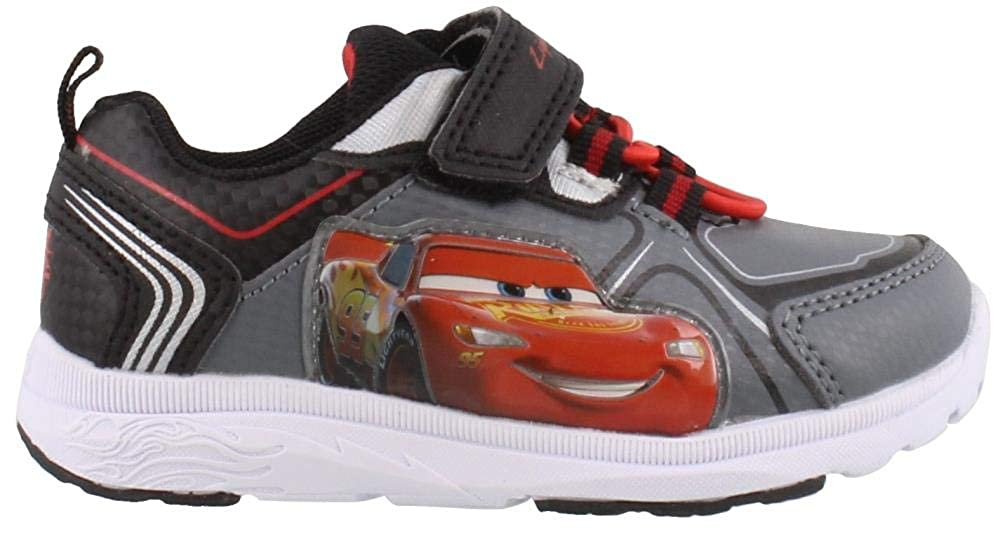 Disney Cars Boys Light Up Athletic Shoes (Toddler/Little Kid) Josmo Kids