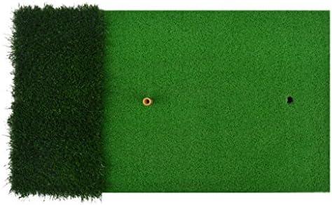 LEI ZE JUN UK- De Dos Colores Green Grass Mini Grass Mini Mats Indoor Golf Practice Swing Modelos Portátiles Alfombras de práctica: Amazon.es: Deportes y aire libre
