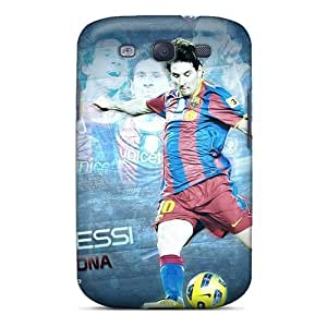 Defender Case With Nice Appearance (the Best Player Of Barcelona Lionel Messi) For Galaxy S3