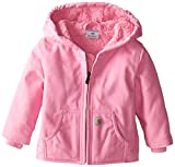 Carhartt Baby Girls' Redwood Jacket Sherpa Lined, Pink, 18 Months
