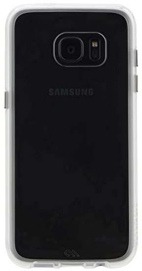 on sale 09cb0 90bb8 New Case Mate Naked Tough Case with Bumper Shock Absorbing Case for Samsung  Galaxy S7 Edge Clear