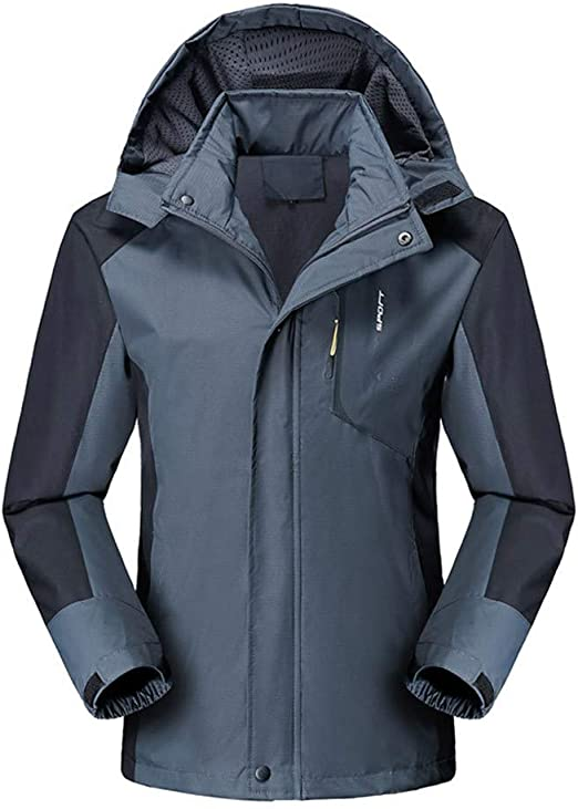 Vickyleb Mens Windbreaker Jackets Lightweight Fashion Mens Pullover Hooded Waterproof Lightweight Windbreaker Jackets