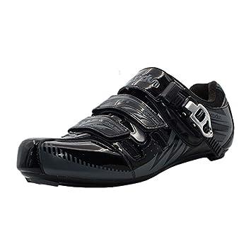 BOODUN Zapatillas del Ciclismo para Hombre en Otoño e Invierno Bicicleta al Aire Libre Vehículo de Carretera Respirable Zapatos Antideslizantes: Amazon.es: ...