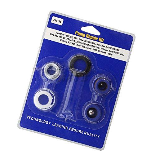 Pump Repair Packing Kit for Graco Ultra Max II 490 495 595 LineLazer 3400 244194