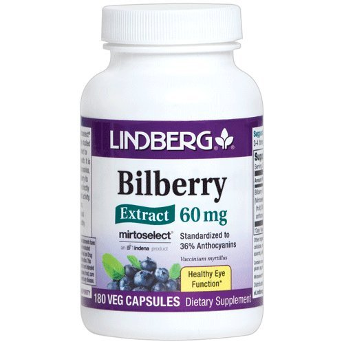 Lindberg Bilberry Extract 36% Anthocyanins