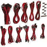 Corsair CP-8920155 Premium PSU Cable Kit, Red/Black