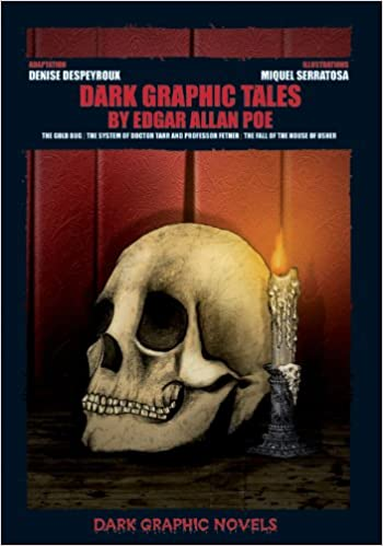Book Dark Graphic Tales by Edgar Allan Poe: The Gold Bug / the System of Doctor Tarr and Professor Fether / the Fall of the House of Usher (Dark Graphic Novels)