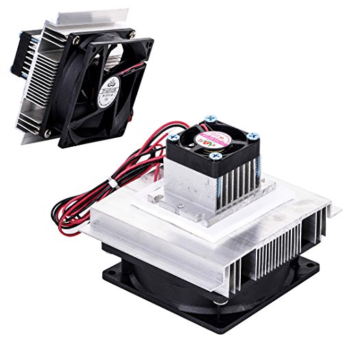 SODIAL TEC-12706 Thermoelectric Peltier Refrigeration Cooling System Kit Cooler Fan DIY by SODIAL (Image #6)