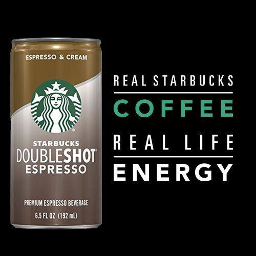 Starbucks Doubleshot, Espresso + Cream, 6.5 Ounce, 12 Pack by Starbucks (Image #4)