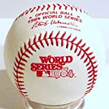 Rawlings 1984 Official World Series Game Baseball