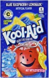 Kool-Aid Twists Soft Drink Mix – Ice Blue Raspberry Lemonade Unsweetened, Caffeine Free, 0.22 oz/envelope (Pack of 12) For Sale