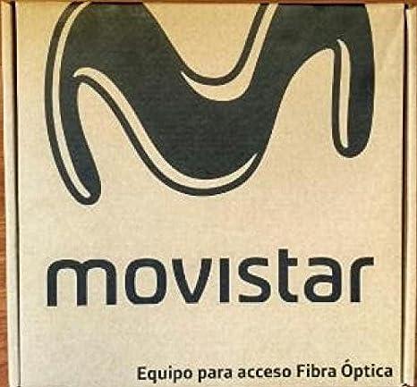 Movistar Fibra ÓPTICA Router WiFi+ONT+VIDEOBRIDGE-(HGU) 2,4 y 5 GHz