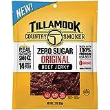 Tillamook Country Smoker Zero Sugar Original Beef Jerky, 2.2 Ounce