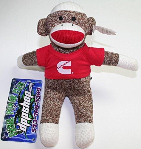 cummins-dodge-truck-4x4-sock-monkey-toy-stuffed-animal-sleep-teddy-bear-co-pet