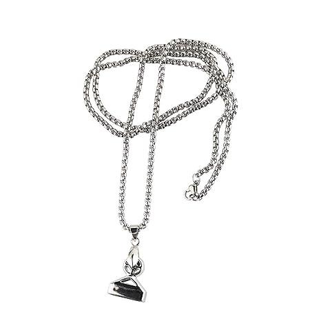 Amazon.com: Collar magnético de acero inoxidable para ...