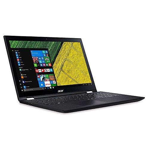 "Acer 2-in-1 Touchscreen Convertible 15.6"" Full HD IPS Notebook, Intel Core i3-7100U Processor, 6GB Memory, 1TB Hard Drive, Windows 10 Home"