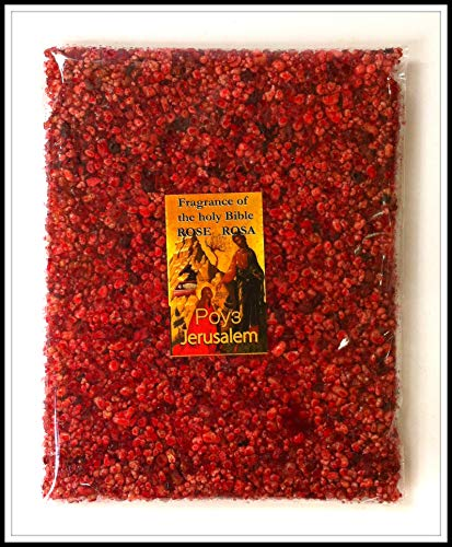 Talisman4U Rose of Sharon Frankincense Resin Aromatic Incense from Jerusalem Holy Land 3.5 oz / 100 g