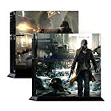 Premium Skin Decals Stickers For PlayStation4 Game Console PS4 Skin Korea Made - POPSKIN Watch Dogs #01