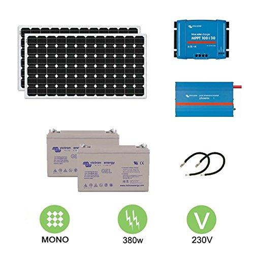 Kit fotovoltaico de 380 W a 230 V