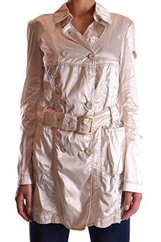 Geospirit Damen MCBI134016O Beige Polyamid Trench Coat