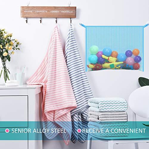 Netz Aufbewahrung 2 St/ücke Spielzeug Organizer Aufbewahrung Netz Kit Rosa Spielzeug H/ängematten Stofftier Aufbewahrung und Masche Badewanne Spielzeug Organizer Halter mit Installation Werkzeug
