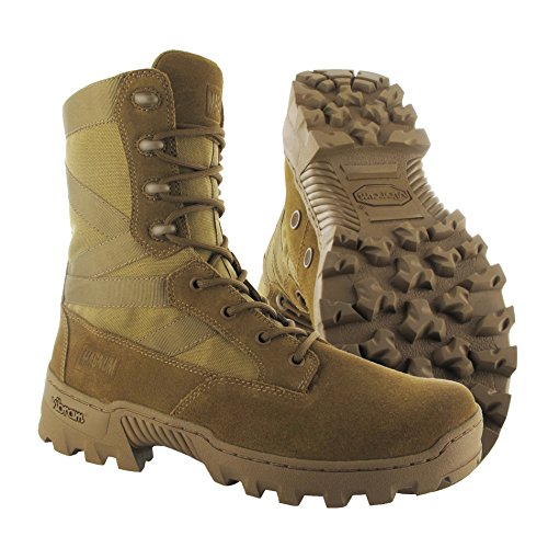 Hi-tec - Magnum Spartan Xtb Coyote Jungle Djungle Boots Stivali Inserto Beige Coyote