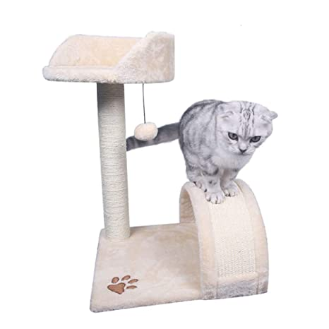 Árboles para gatos Árbol de Actividad del Gato con los Postes Que rasguñan, Gato Que