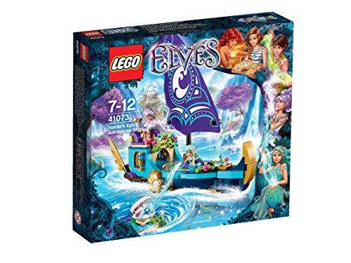 LEGO-Elves-Set-La-gran-aventura-en-barco-de-Naida-multicolor-41073