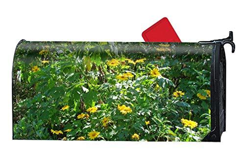 setfugui Weeds Sunflowers Flag Picket Fence Bird Friends Mag