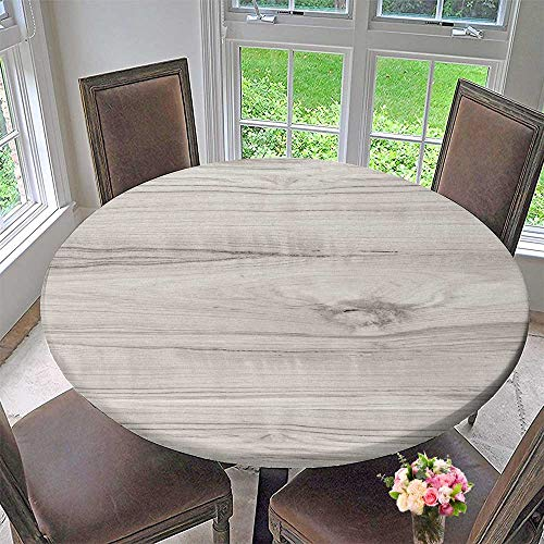(PINAFORE HOME Round Tablecloth Wood Texture Surface of Teak Wood Background for Design and Decoration for Kitchen 67