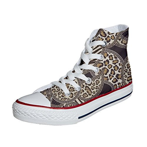 Converse All Produkt Handwerk personalisierte Star Customized Schuhe Jungle q6rqAw