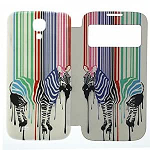 JOE Zebra PU Leather Full Body Case for Samsung S4 I9500