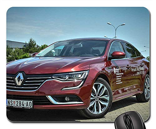 Mouse Pad - Renault Car Vehicle Automobile Transportation Red ()
