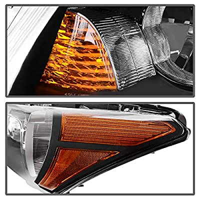 AUTOSAVER88 Headlight Assembly Compatible with 2008-2012 Honda Accord 4-Door Sedan Driver & Passenger Side: Automotive