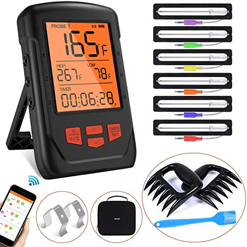 Bluetooth Meat Thermometer Wireless