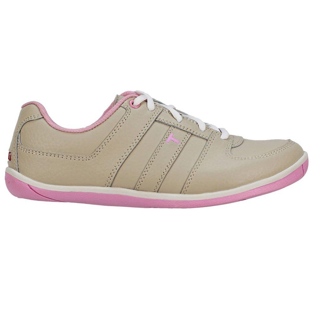 True Linkswear True Scottsdaleゴルフ靴 – 女性用ホワイト/エメラルド 5 B(M) US Light Tan / Pink B00IV300KI