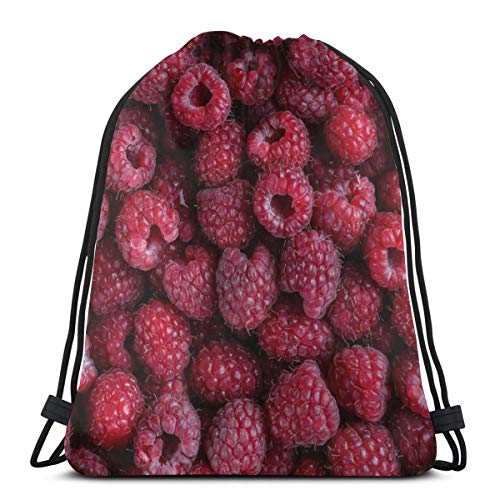 Red Blueberry Fruit Personalized Sports Pumping Rope Bag Is Suitable For Unisex Outdoor Travel -