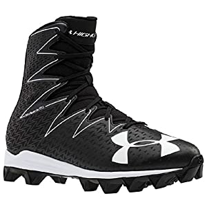 Under Armour Men's Highlight RM Football Cleat Black/White Size 6.5 M US