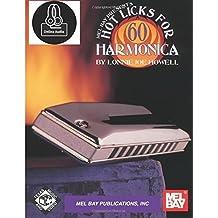 60 Hot Licks For Harmonica (Book + Online Audio)