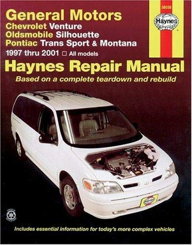 Haynes General Motors: Chevrolet Venture, Oldsmobile Silhouette, Pontiac Trans Sport and Montana (97-05) Manual ()