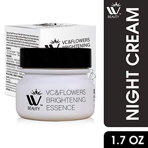 51RmlCEvuHL - WBM Restoring Night Cream For Face   Anti-Aging Retinol Cream Moisturizer   Skin Renewing Face Cream With Hydro-Rich Essence   1.7 Oz