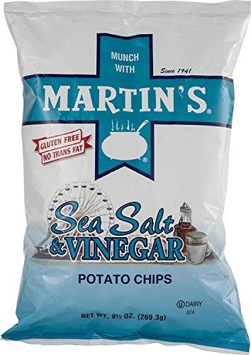 Martin's Sea Salt & Vinegar Potato Chips - 9.5 Oz. (3 Bags)