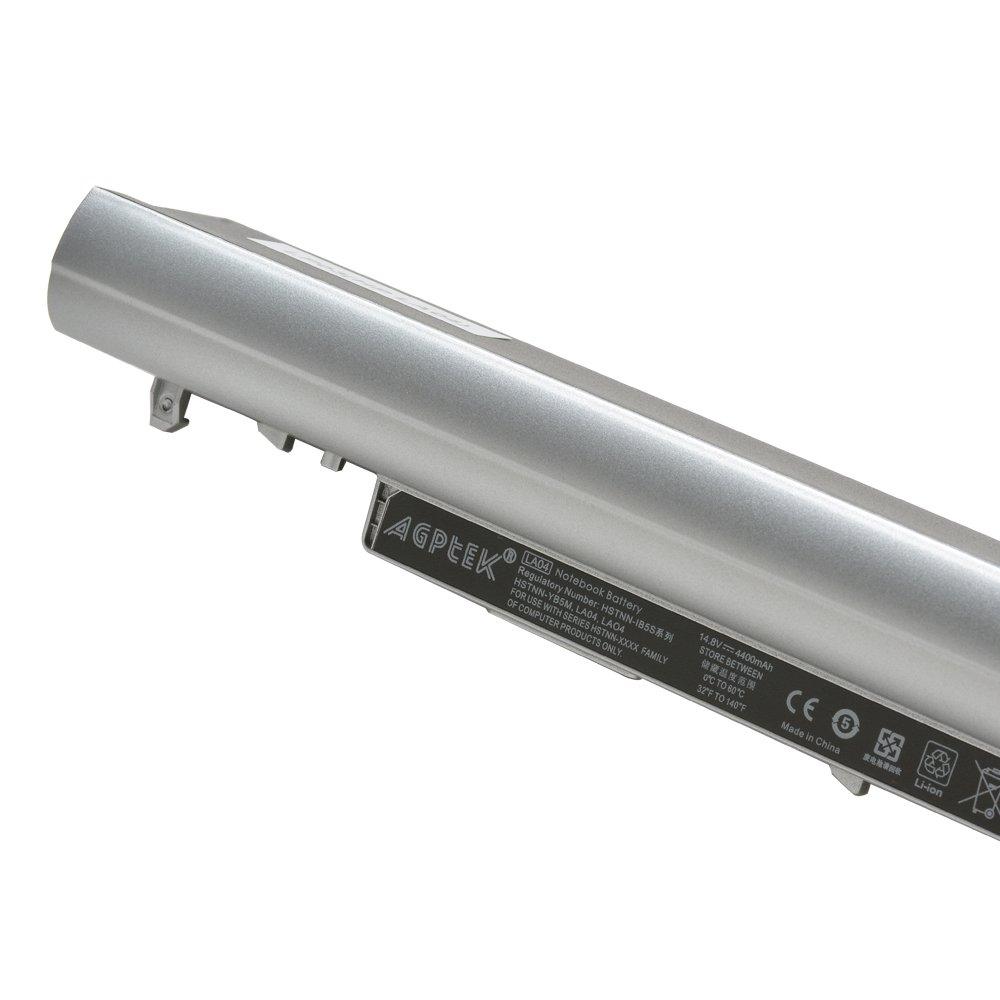 AGPTEK HP LA04 Battry Li-ion Laptop 4400mAh 8 Cell Battery Pavilion 14, 15 Touchsmart 340 G1 Series 8 Bat by AGPTEK (Image #4)