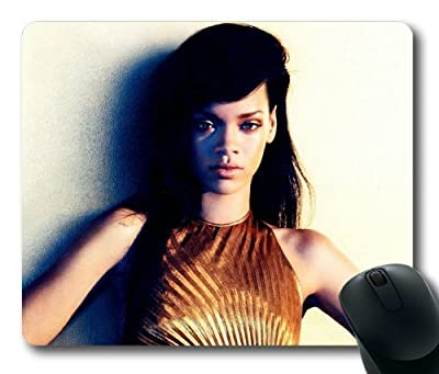 Customizablestyle Famous Singer Rihanna-6 Mousepad, Customized Rectangle DIY Mouse Pad