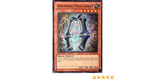 Chronomaly Moai Carrier LVAL-EN008 Common Yu-Gi-Oh Card New U