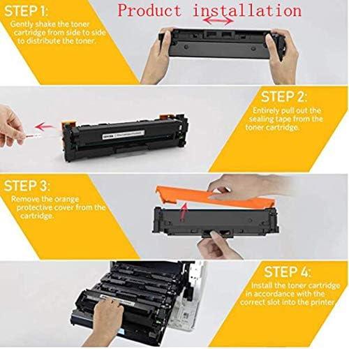 TonxIn Compatible with CF410ACF411ACF412ACF413A HP Toner Cartridge for m477fdwm377dwm452dw Cartridge Color Printer,4colors