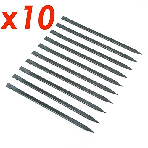 x10 pcs Pieces Precision Repair Set Tools Kit Nylon Plastic Pry Spudger Pick/Probe Compatible with: Apple iPad, iPhone 10 8 7 6 6s 4 5 5c 5s Plus Air , Samsung S6 S7 S8 S9 Edge Note LG Tablet Notebook - Nylon Probe