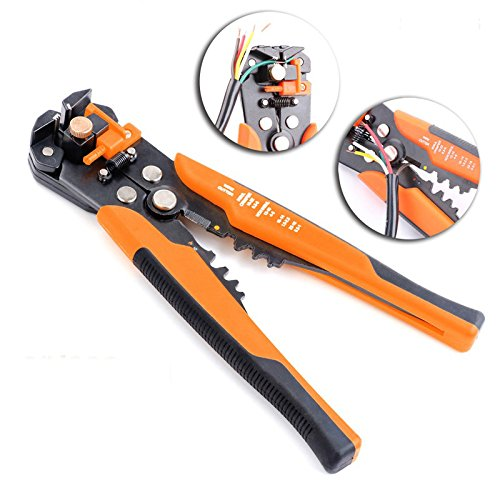 SHOWHASH Self-Adjusting Professional Multifunctional Cable Wire Stripper Plier Cutter Crimper Automatic Crimping Stripping Plier Tools by SHOWHASH